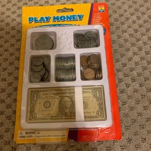 Play money, ages 5 and up
